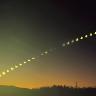 ・新年初めの部分日食を一目見よう会/栃木県益子町