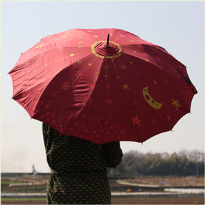 Seamless Jump Umbrella-Jewelry Tree-ワイン